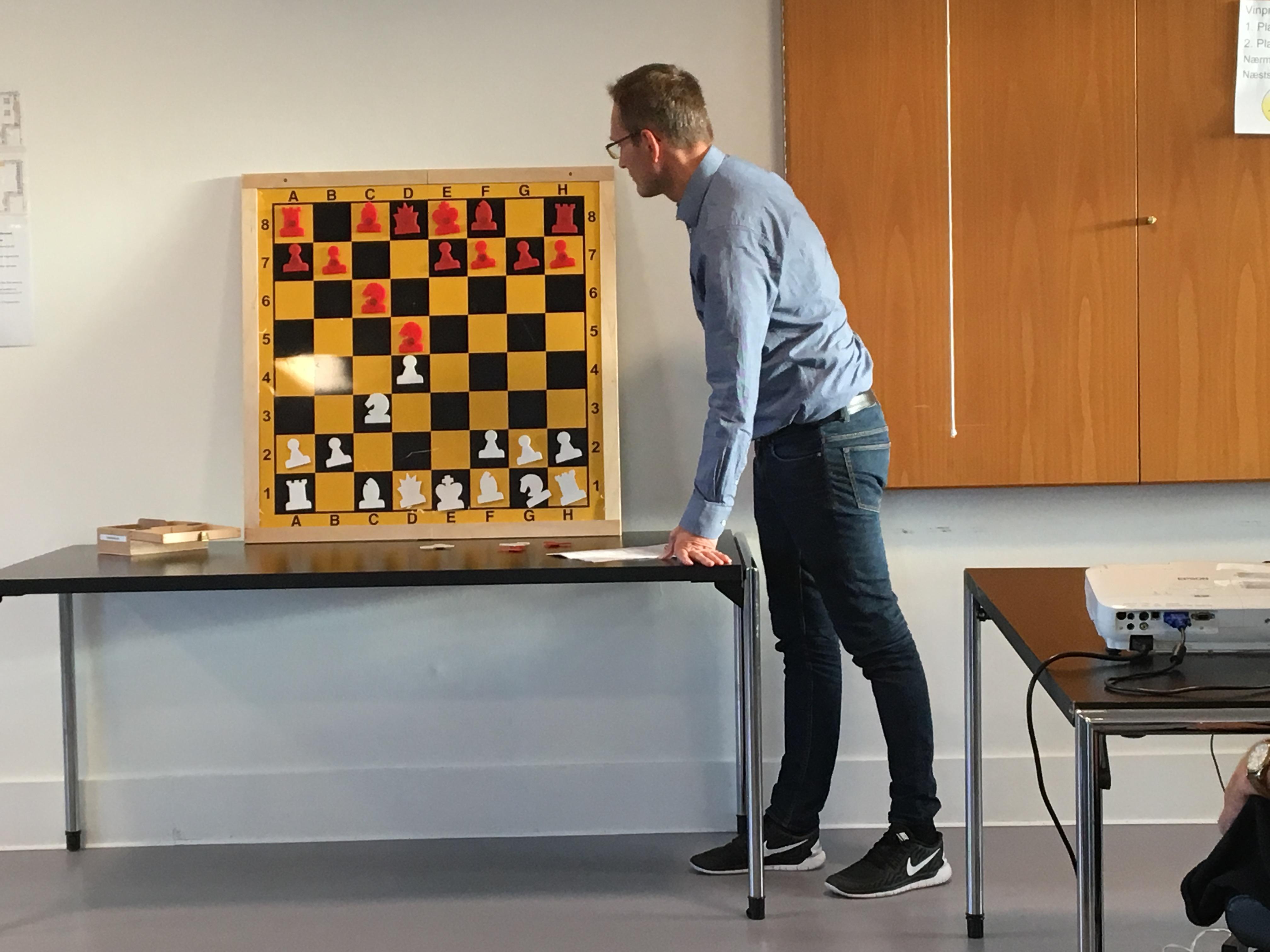 opstilling i skak